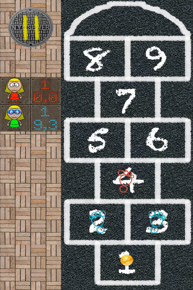 Screenshot Hopscotch-X